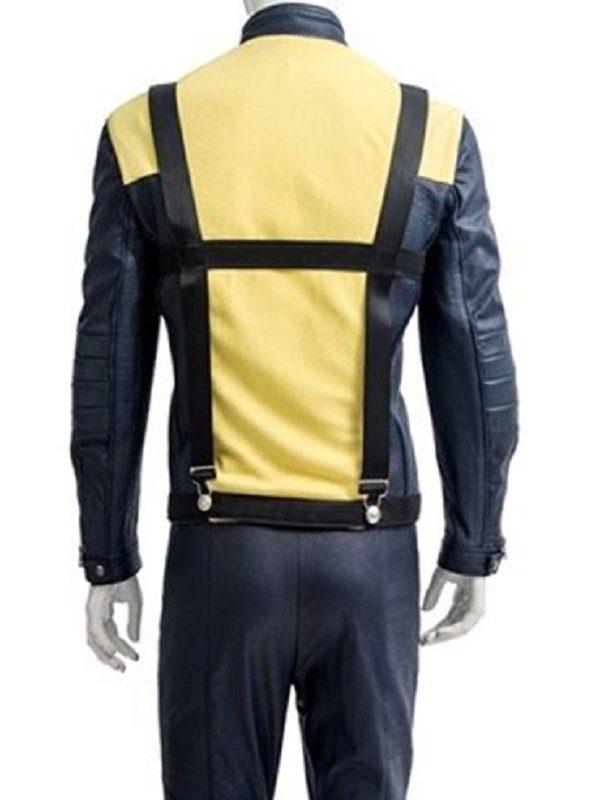 Charles Xavier X-Men First Class Cosplay Jacket back