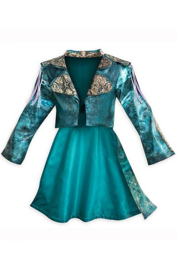 Descendants 3 Uma Blue Leather Costume Jacket fron