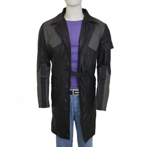 Deus Ex Mankind Divided Adam Jensen Black Long Coat o