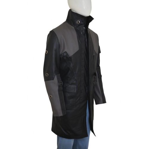 Deus Ex Mankind Divided Adam Jensen Black Long Coat s