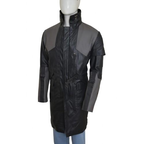 Deus Ex Mankind Divided Adam Jensen Black Long Coat