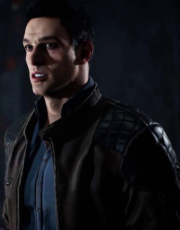 Devil's Hunt Quilted Leather Jacket