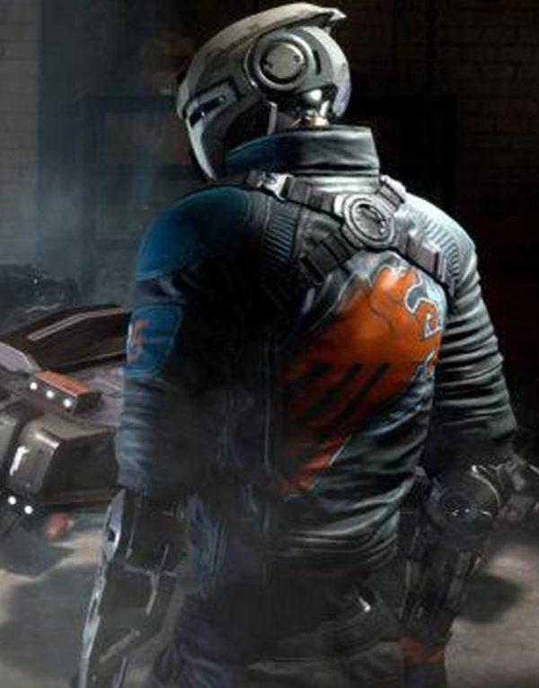 Disintegration Game Romer Shoal Leather Jacket back