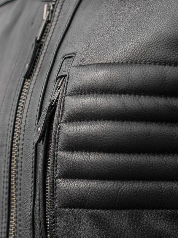 Drifter Rockstar Men's Motorcycle Leather Jacket