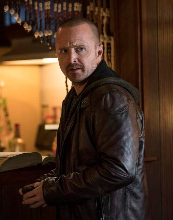 El Camino A Breaking Bad Aaron Paul Leather Jacket