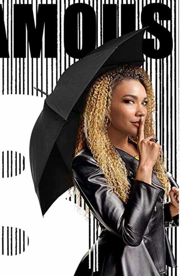Emmy Raver The Umbrella Academy Allison Black Leather Jacket