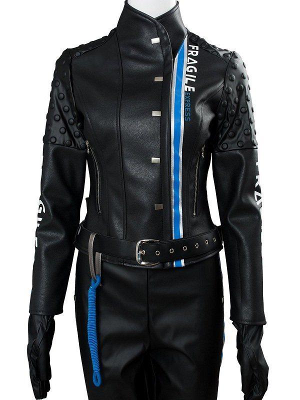 Fragile Express Death Standing Black Costume Jacket front