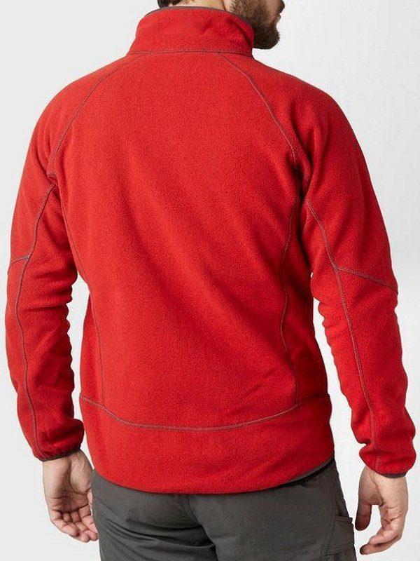 John Felix Anthony Cena Red Fleece Jacket back
