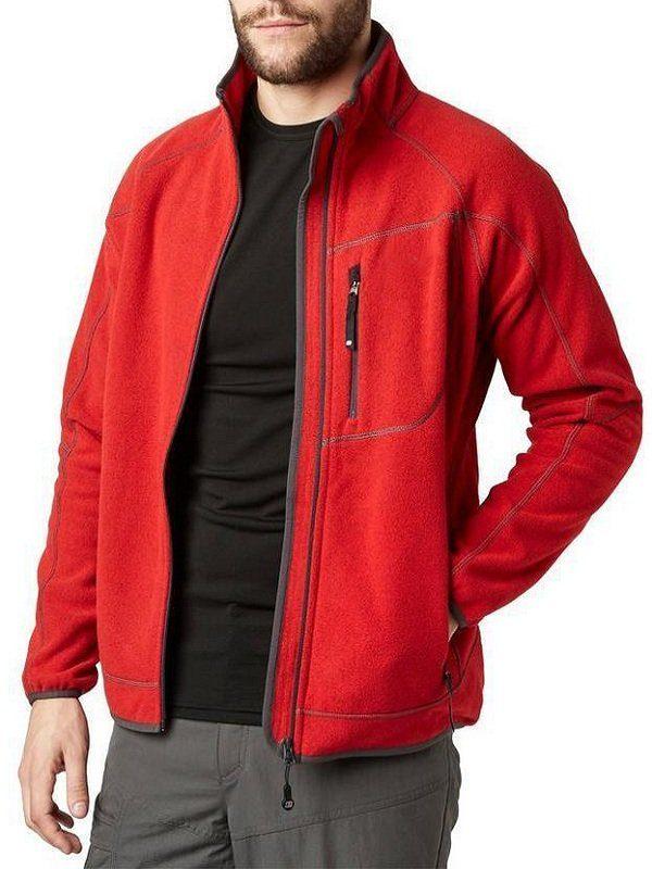 John Felix Anthony Cena Red Fleece Jacket front