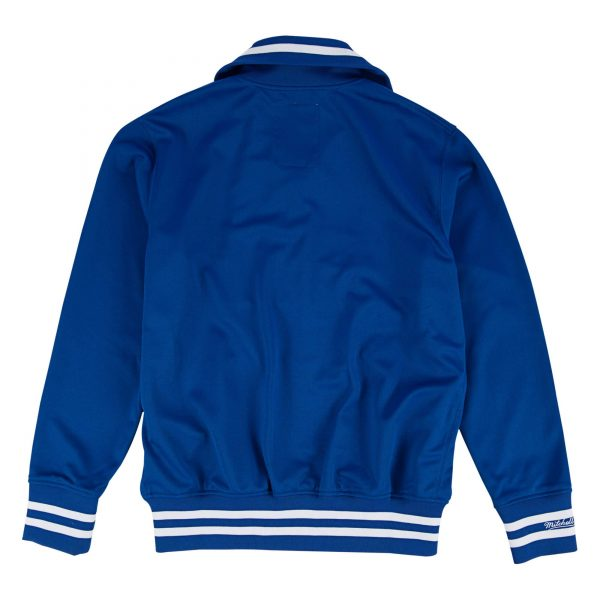 Los Angeles Dodgers 1981 Authentic Blue Bomber Satin Jacket back