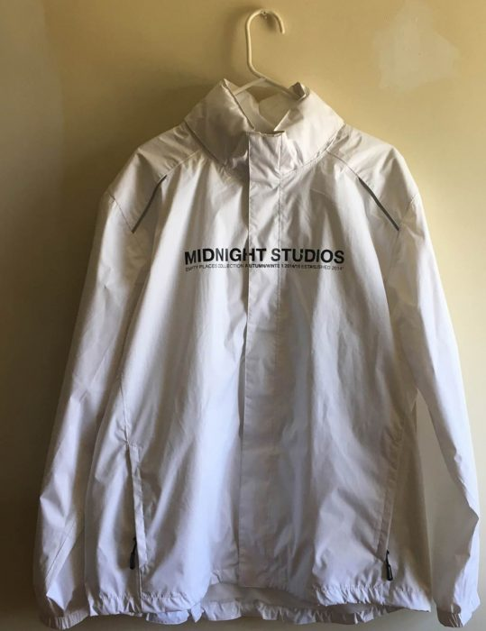 Midnight Studio Desire Black & White Hoodie Jacket front