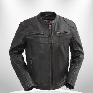 Nemesis Rockstar Men's Motorcycle Leather Jacket