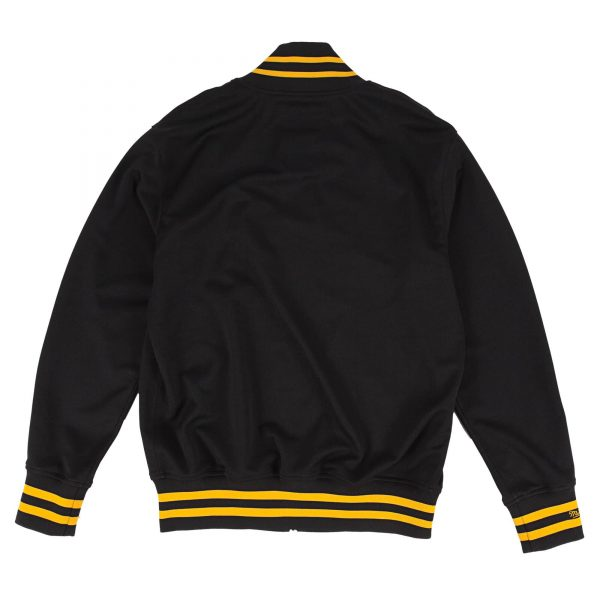 Pittsburgh Pirates 1987 Authentic BP Black Bomber Jacket back