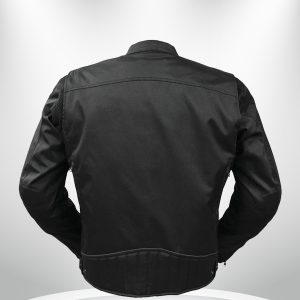 Rockstar Speedstar Motorcycle Codura Black Jacket back