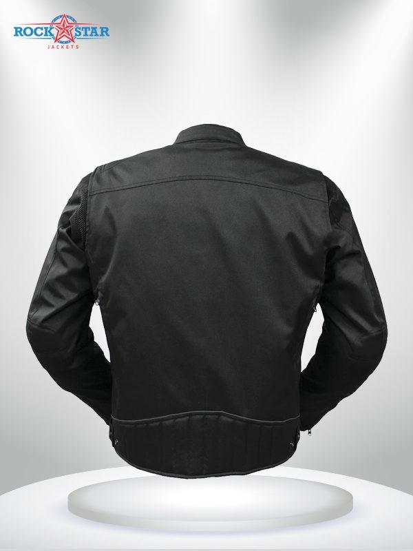 Rockstar Speedstar Motorcycle Codura Black Jacket back