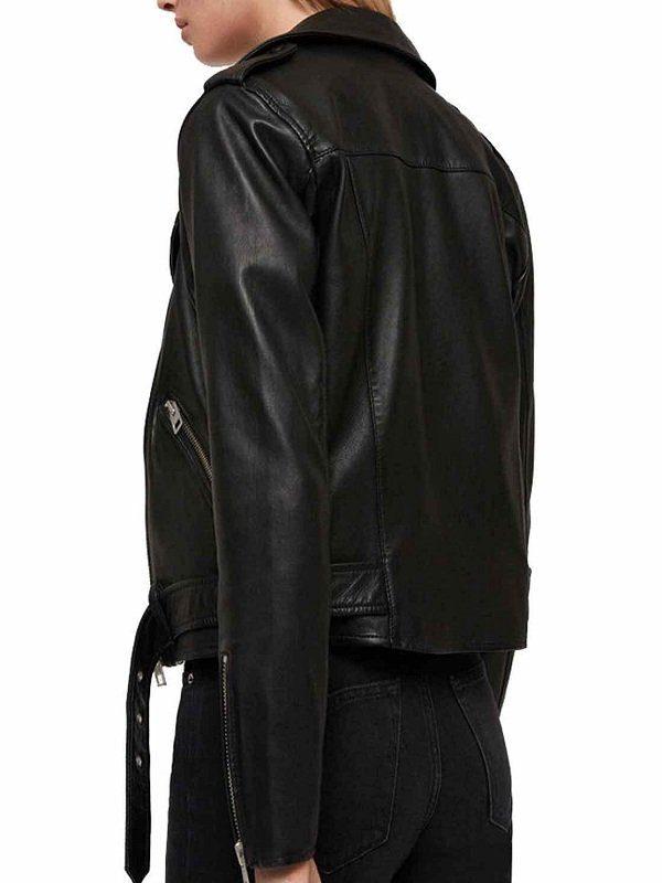 Rosa Diaz Brooklyn Nine-Nine S5 Black Leather Jacket back