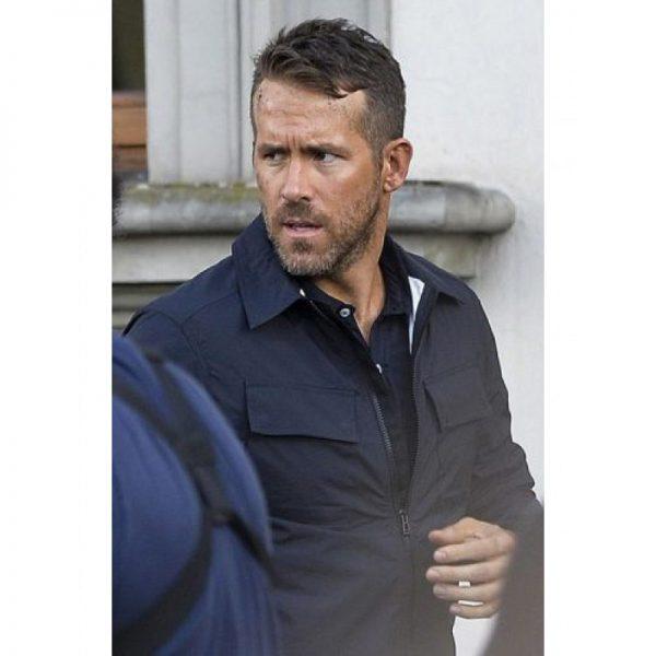 Ryan Reynolds 6 Underground Black Cotton Jacket