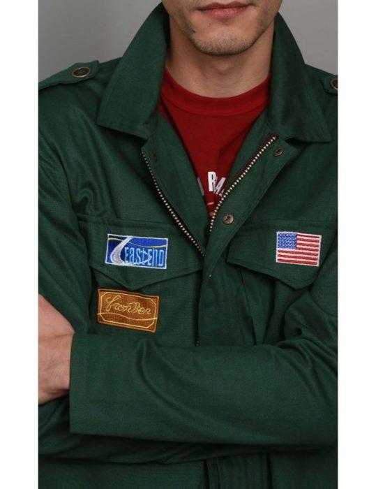 Silent Hill 2 James Sunderland Green cotton Jacket front