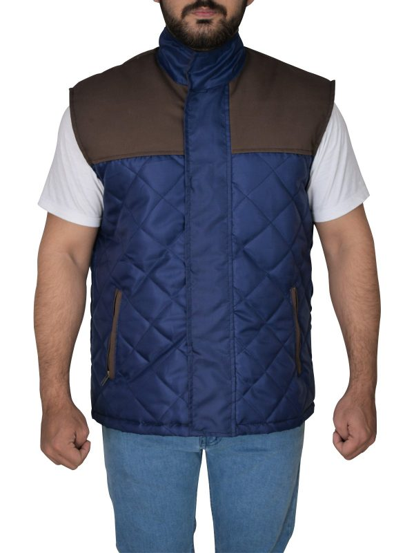 The 5th Wave Alex Roe Diamond Quilted Vest front
