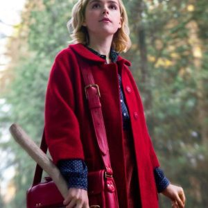 The Chilling Adventures of Sabrina Spellman Red Long Coat