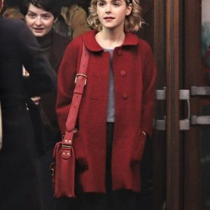 The Chilling Adventures of Sabrina Spellman Red Long Coat front