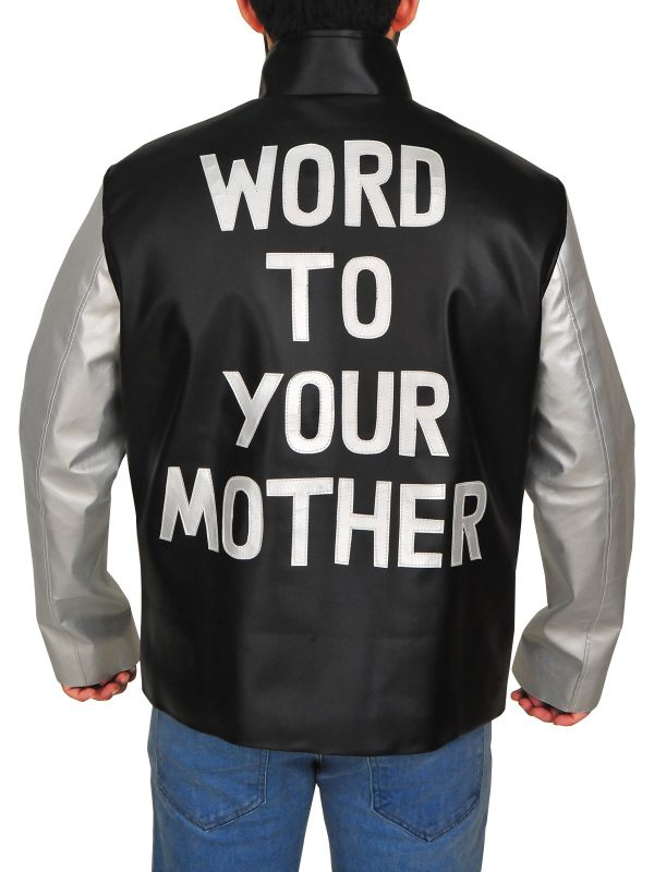 Vanilla Ice Word To Your Mother Leather Jacket back
