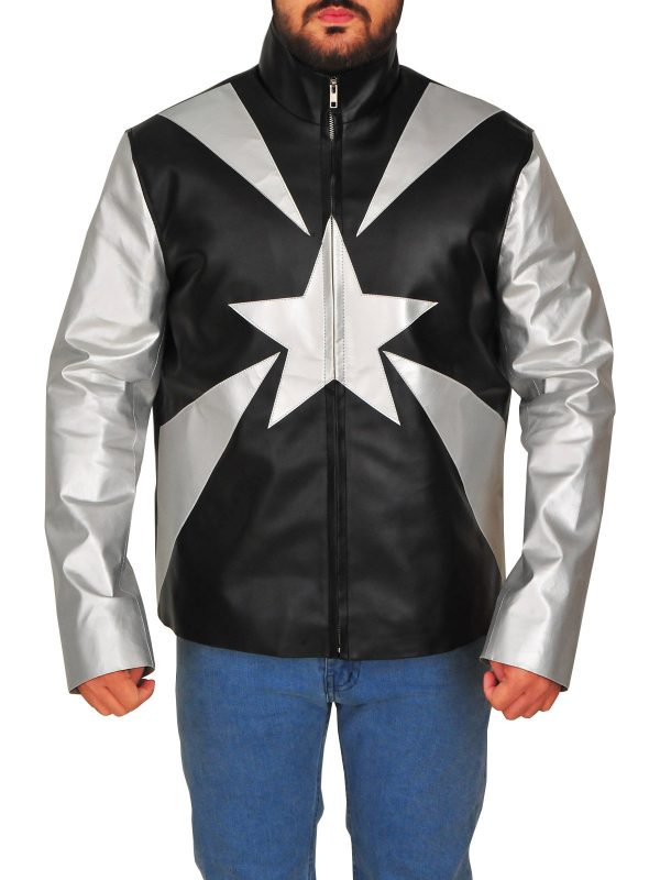 Vanilla Ice Word To Your Mother Leather Jacket front