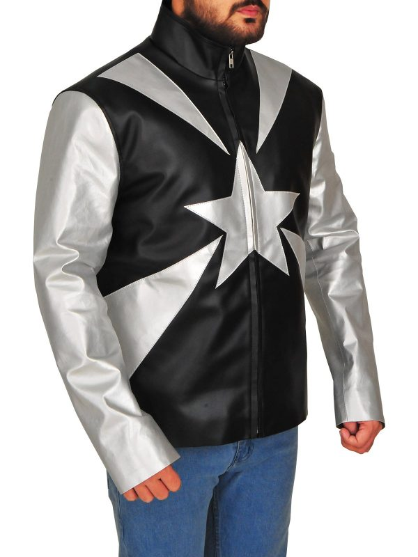 Vanilla Ice Word To Your Mother Leather Jacket side