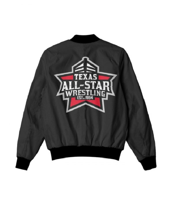 texas all star wrestling jacket all star wrestling jacket