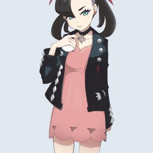 Awesome Marnie Pokemon Sword And Shield Leather Jacket