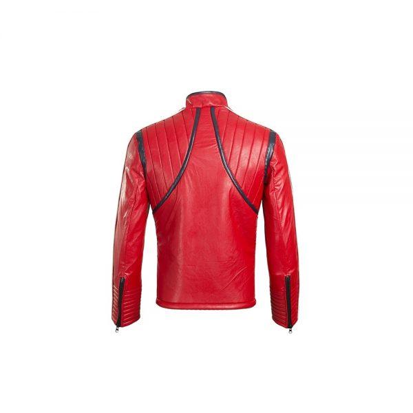 Back Party Poison Gerard Way Danger Days Killjoys Red Jacket