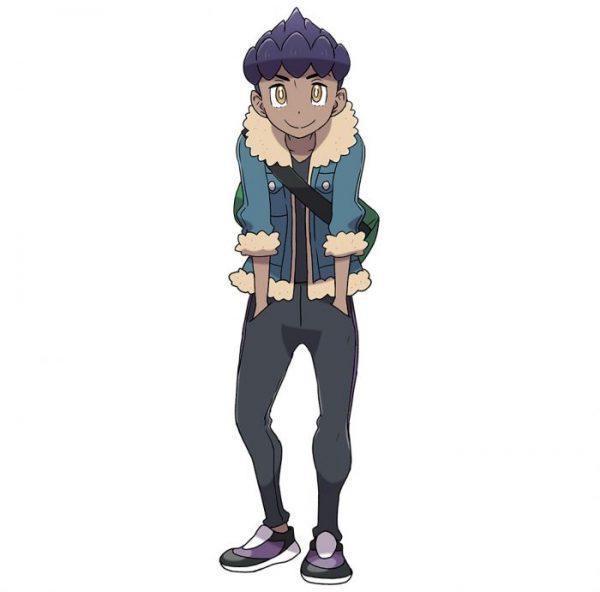 Hop Pokemon Sword And Shield Blue Leather Jacket