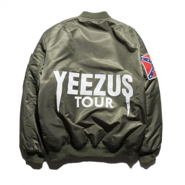 Kanye West Yeezy Confederate Flag Jacket