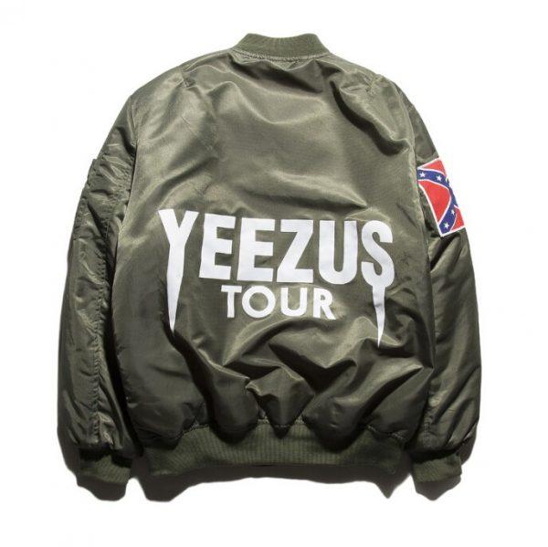 Kanye West Yeezy Confederate Flag Jacket