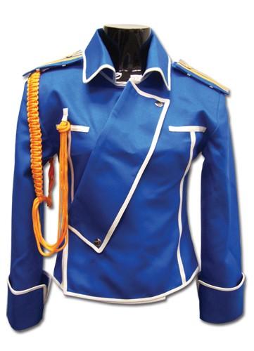 State Military Fullmetal Alchemist Brotherhood Blue Jacket