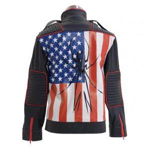 US Flag JetStar My Chemical Romance Gerard Way Danger Days Jacket