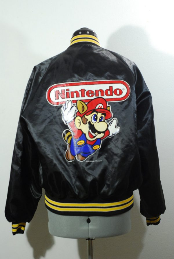 Vintage 1990 Nintendo Jacket Tanooki Suit Super Mario Bros Jacket