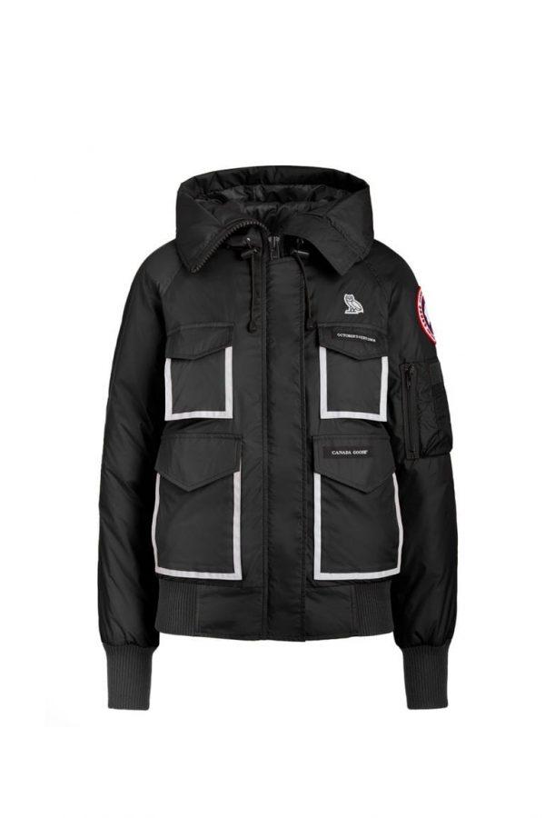 ovo x canada black goose jacket