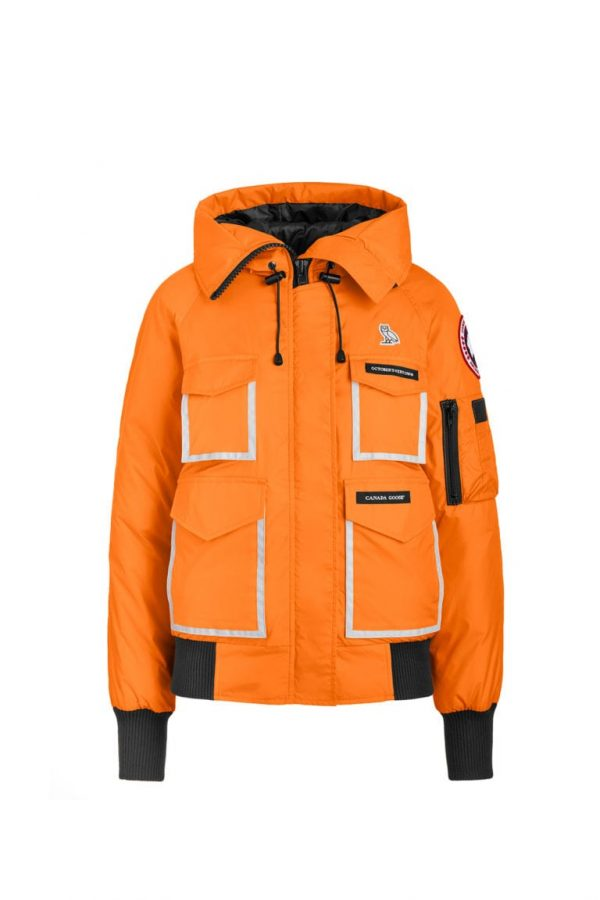 ovo x canada orange goose jacket