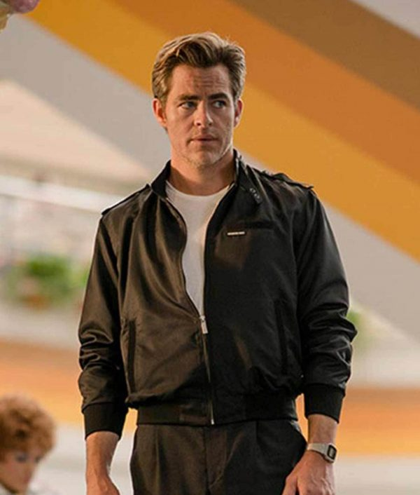 2020 Chris Pine Steve Trevor Wonder Woman 1984 Bomber Jacket