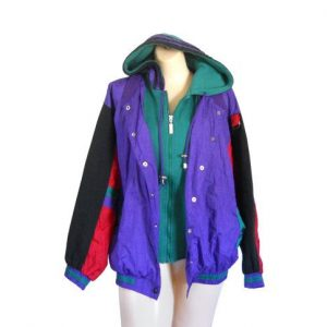 90s windbreaker jacket womens