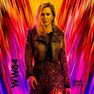 Kristen Wiig Barbara Minerva Cheetah Leather Jacket From Movie Wonder Woman 1984 (2020)
