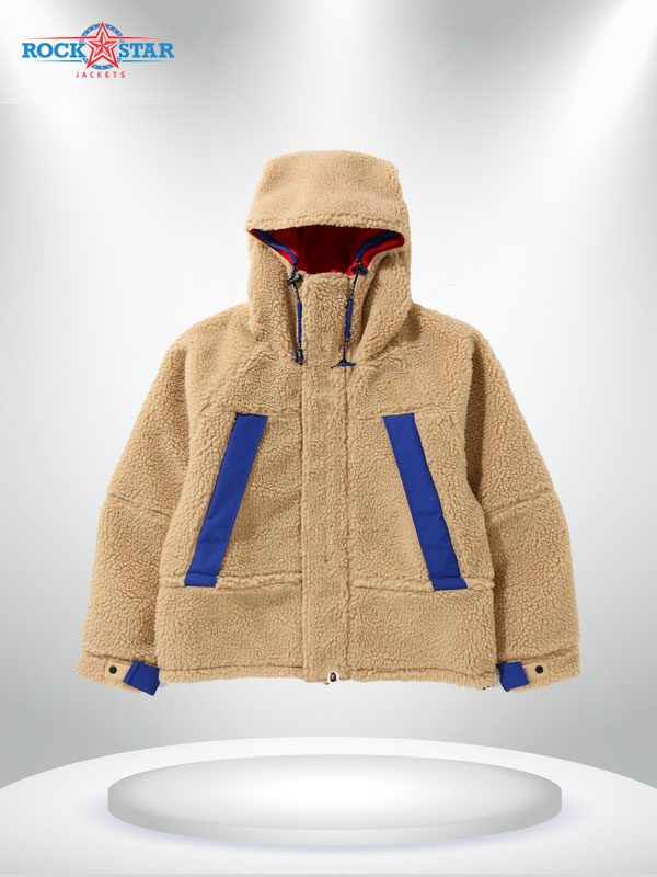 Boa Snowboard Shearling Fabric Jacket