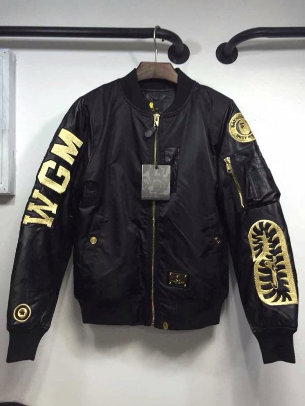 Chris Brown Bape WGM Bomber Jacket