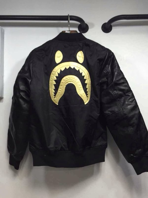 Chris Brown Bape WGM Jacket