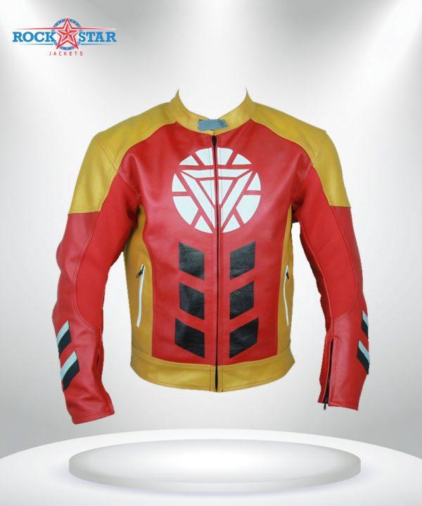 Iron Man Tony Stark Heart Jacket