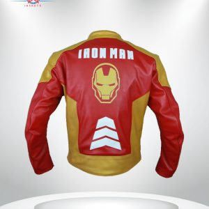 Iron Man Tony Stark Heart Logo Jacket
