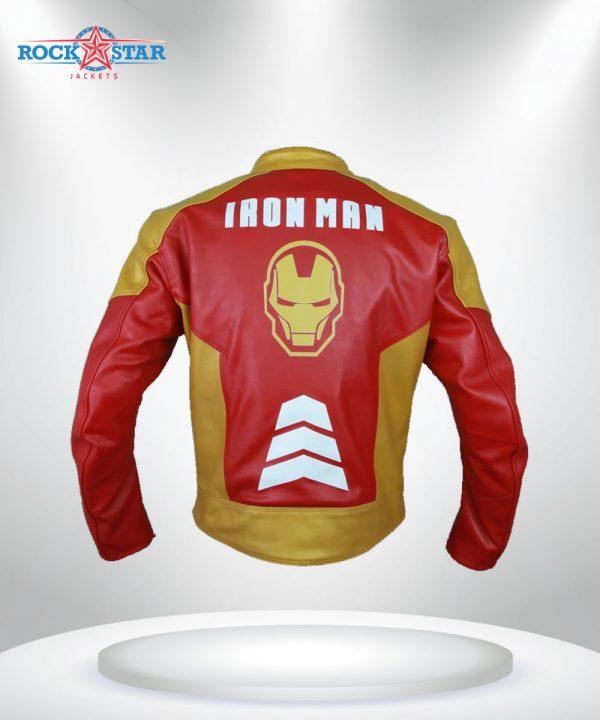 Iron Man Tony Stark Heart Logo Jacket