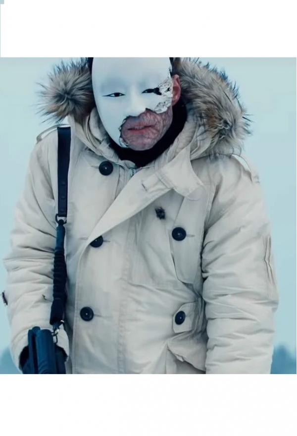 Rami Malek Safin James Bond White Jacket