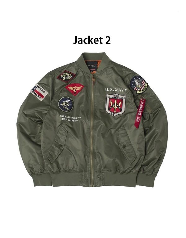 TOP GUN MA-1 Green Jacket